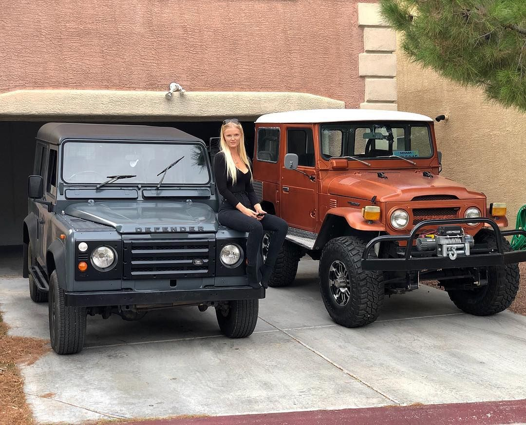 Home Landroverdefender X Fj40 With Images Land Rover