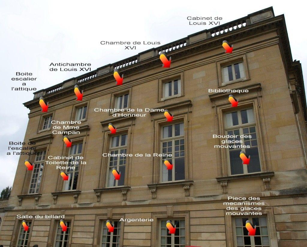 Plans du petit trianon chateau de versailles pinterest for Trianon plan salle