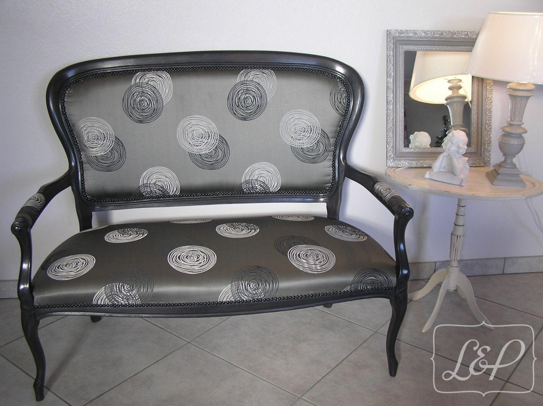 Canap patin style voltaire adela de meubles et rangements par fauteuil - Meuble voltaire ...