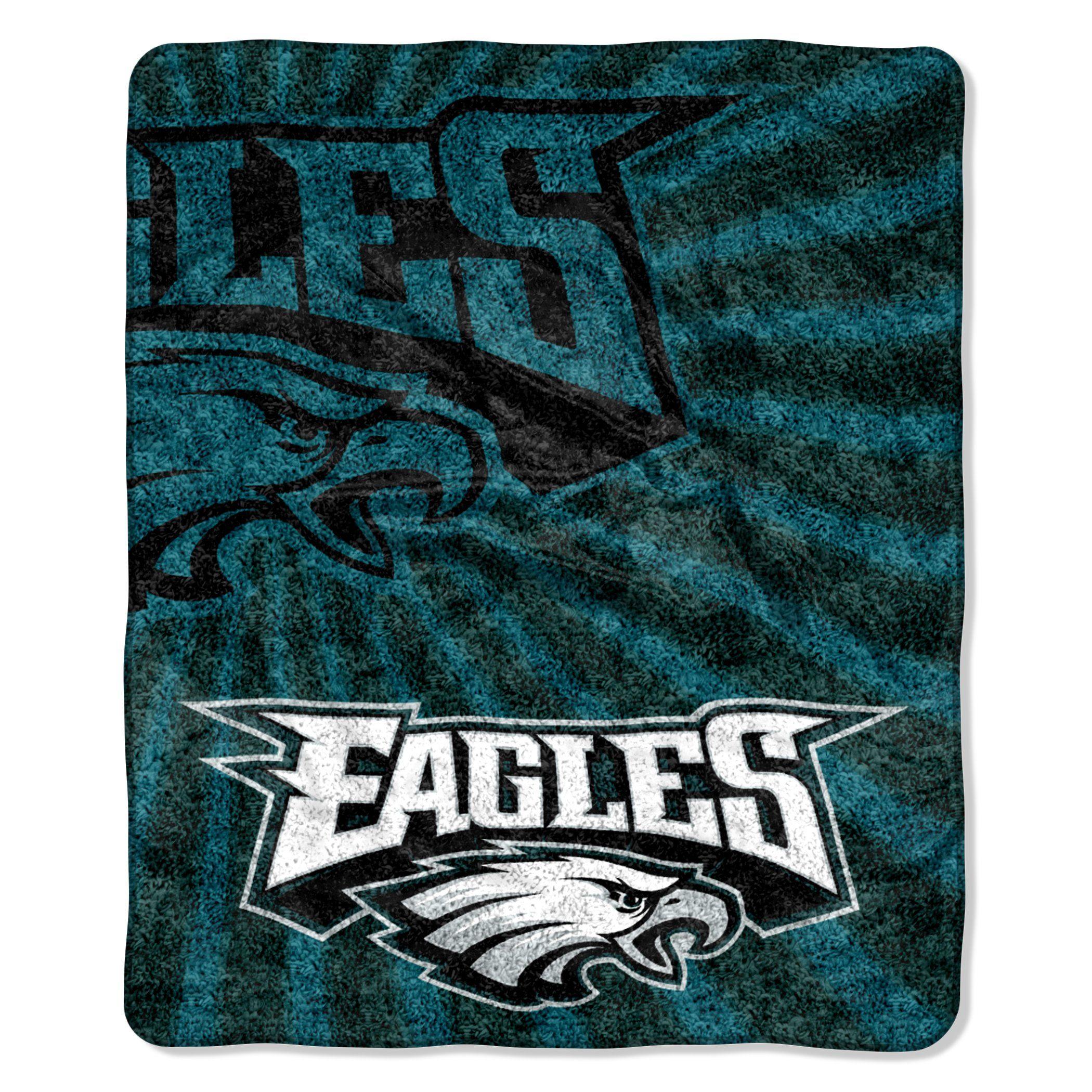 a3370a3262c Philadelphia Eagles Blanket 50x60 Sherpa Strobe Design  PhiladelphiaEagles