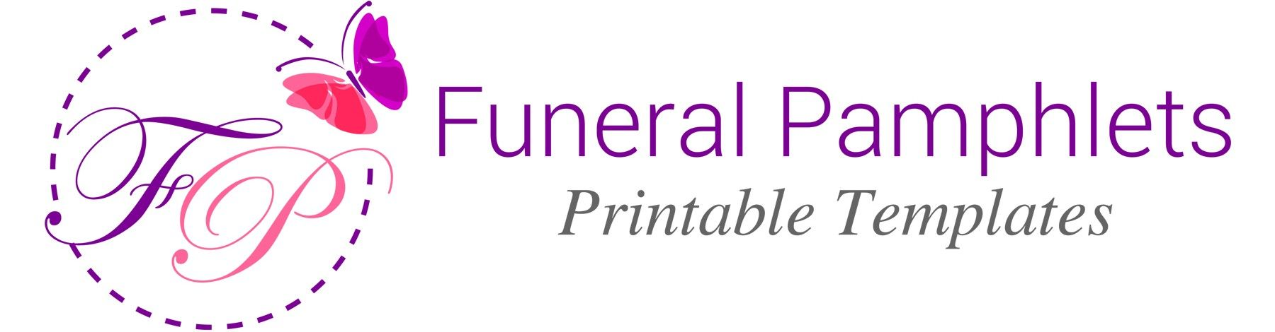 Download funeral program templates for the Service ...