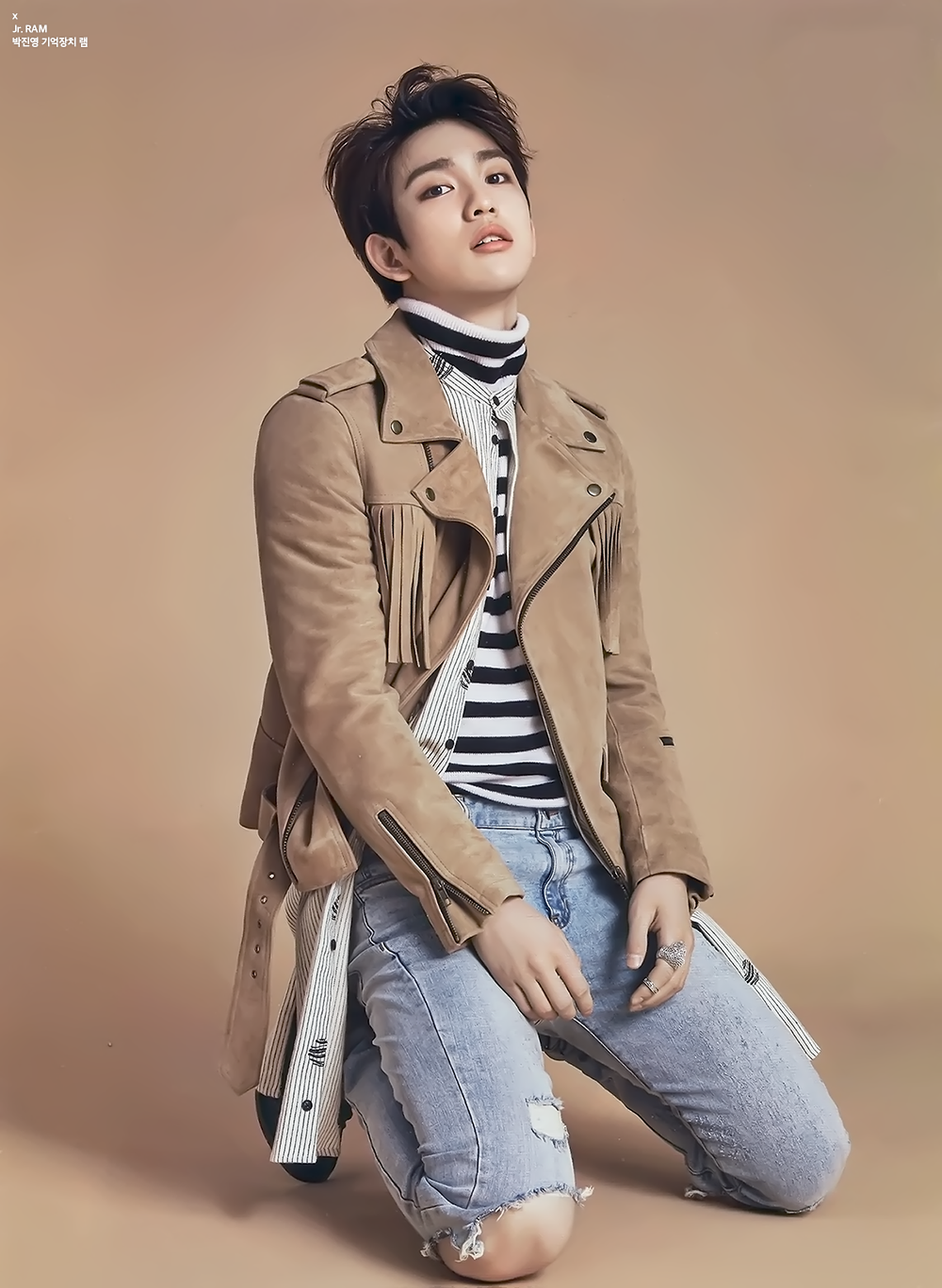 GOT7's BamBam Shows Off His Hidden Manliness in CeCi's ... |Jackson Got7 Ceci