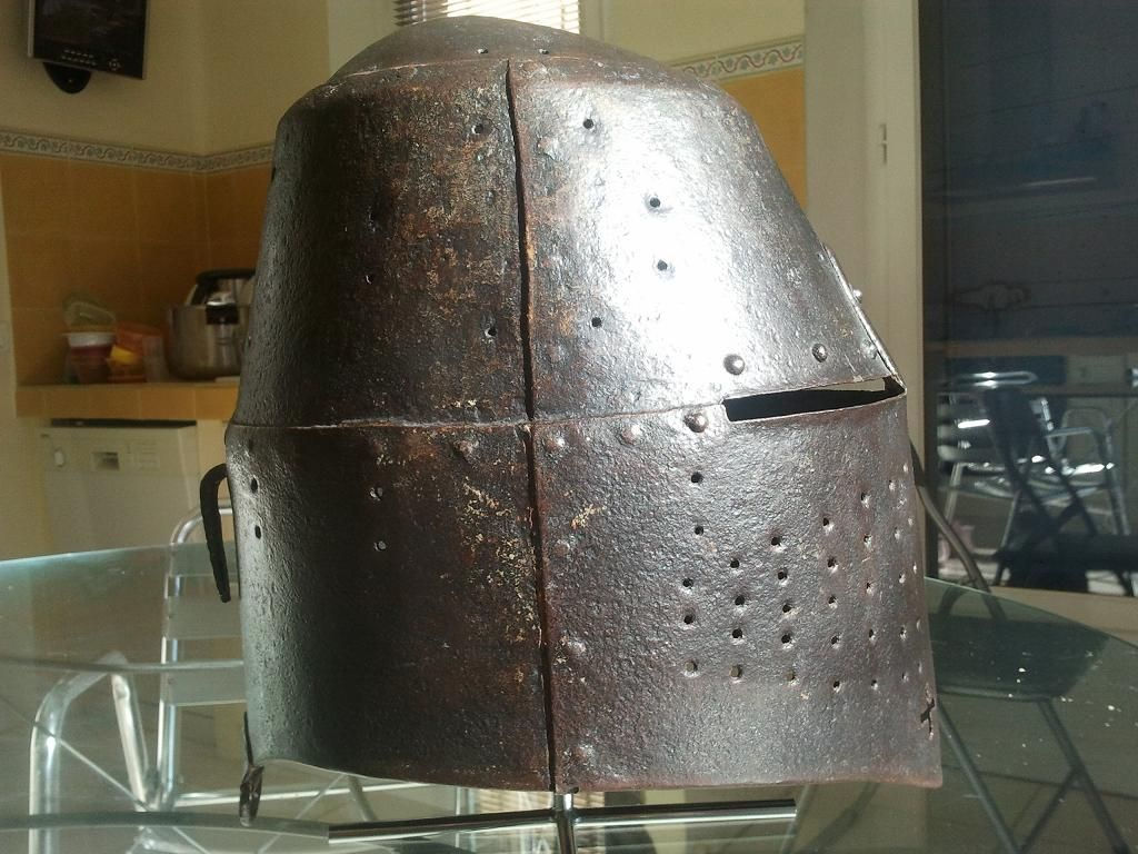 Late 14th century great helm  Sothebys    Great Helm in 2019