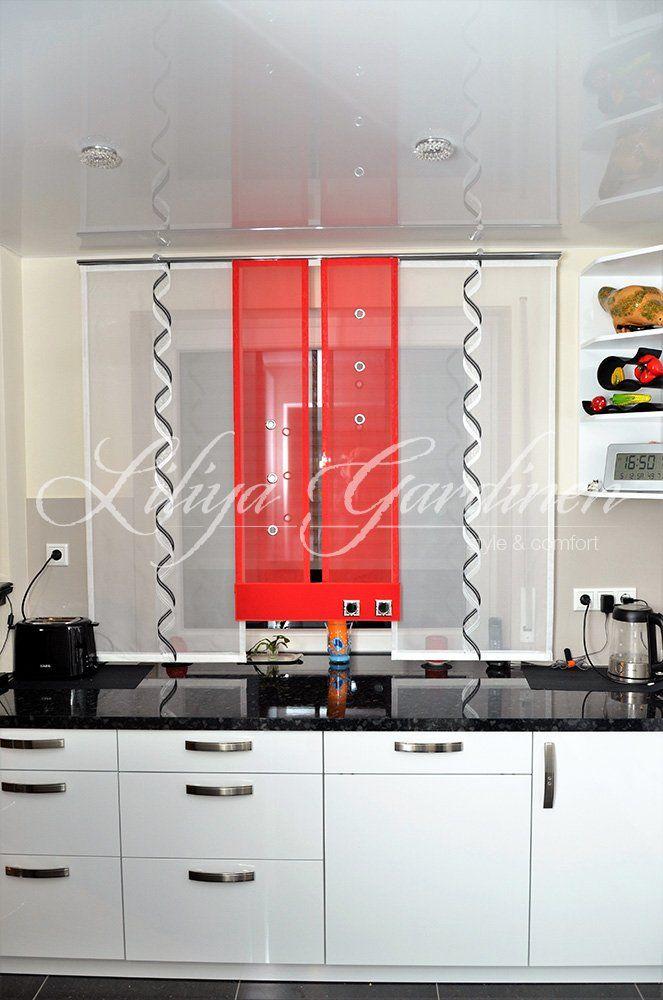 Küche  Bad « Gardinen Liliya vörhänge in 2018 Pinterest