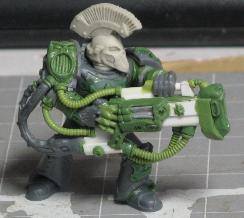 Chaos, Chaos Space Marines, Conversion, Female, Noise