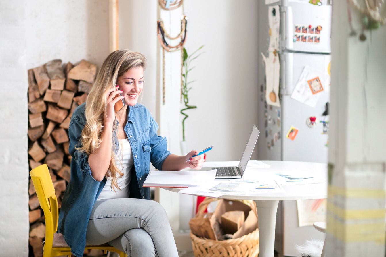 Work from home jobs are steadily gaining popularity over