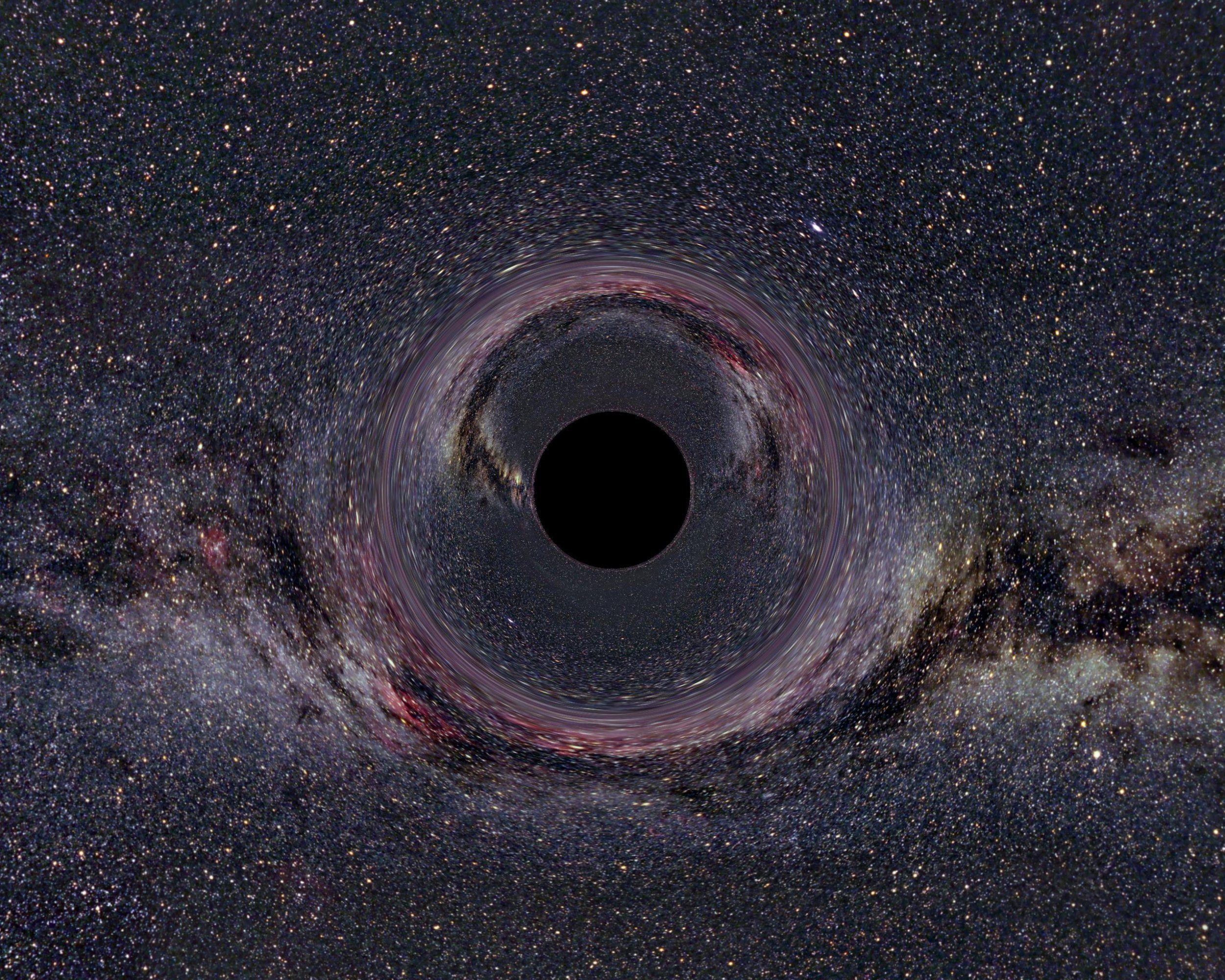 Tech Metro Black Holes In Space Black Hole Gravitational Waves