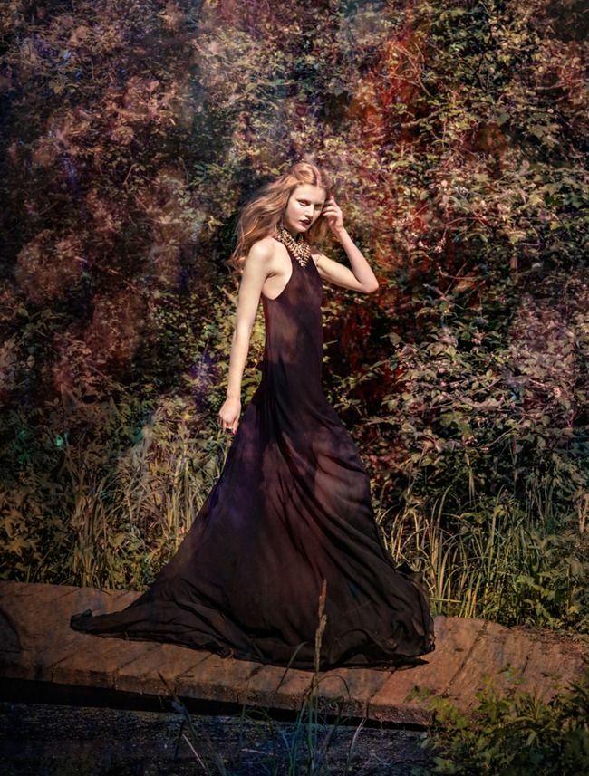 ELLE SWEDEN Elsa Brisinger in Dreams & Reality by Carl Bengtsson. Jenny Fredriksson, August 2012,
