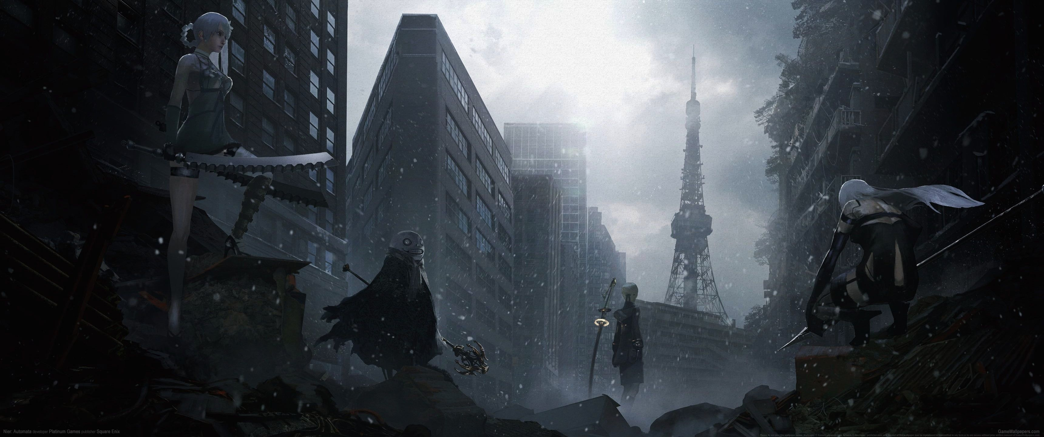 Hdwallpaper Destruction Application Metropolis Wallpaper