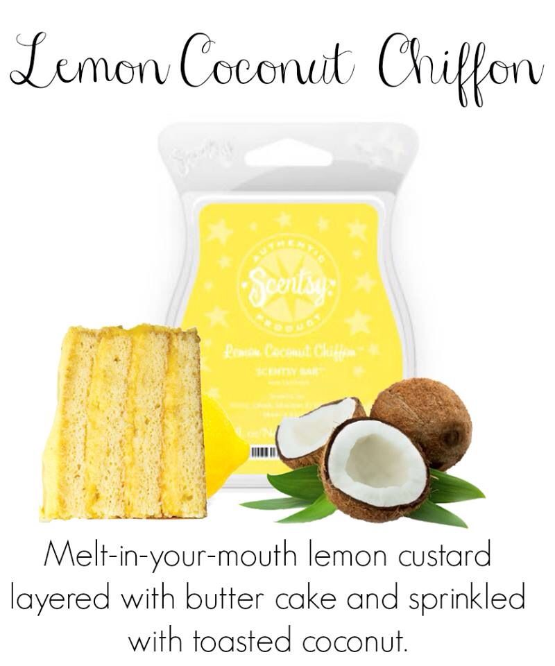 Pin by Ginniane Gotter on Scentsty candles | Lemon coconut, Wax