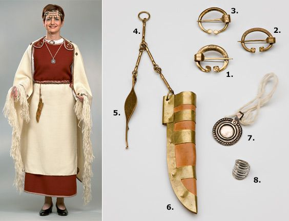 Pre-viking but cool - Muinaispukukorut - Muut tuotteet - Verkkokauppa; Perniö suit, Finland proper