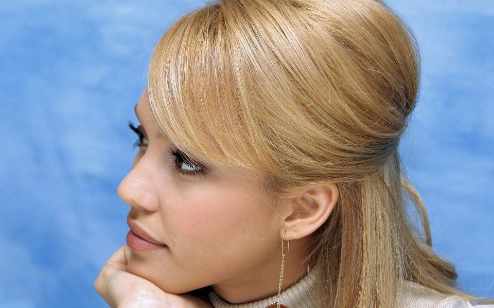 Jessica Alba Blonde Hair Fantastic Four