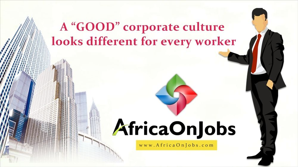 """A """"good"""" corporate culture looks different for every"""