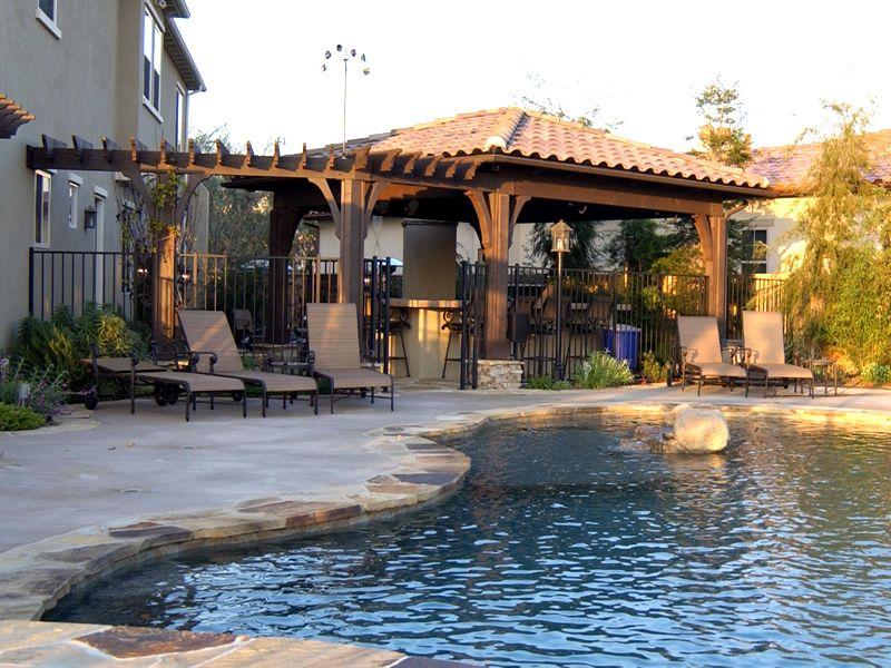 Backyard oasis | Custom swimming pool, Dream backyard