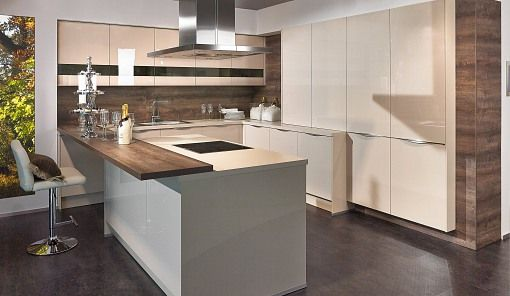 Küche aurelia_Kaschmir-Hochglanz-Lack design  deko Pinterest - küche magnolia hochglanz