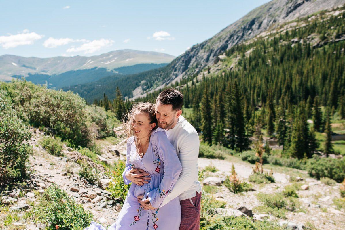 Breckenridge Mountain Colorado Family Photos {Brie & Tyler