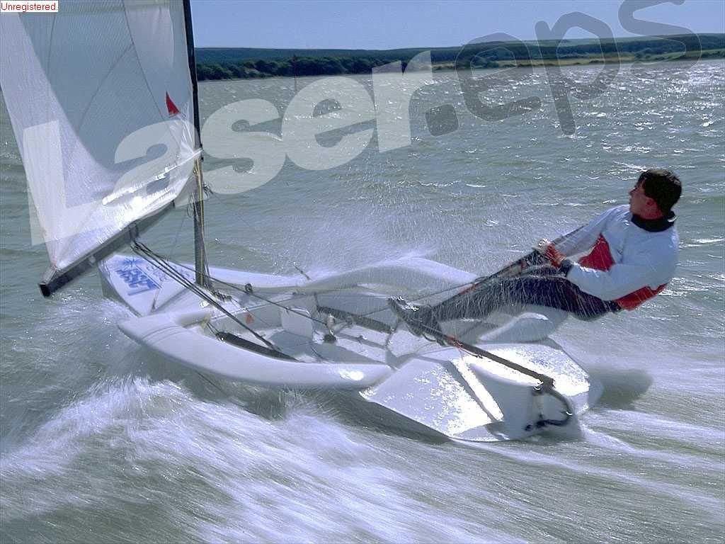 One Of The Most Fun To Sail Laser Boat Sailing Dinghy Sailing