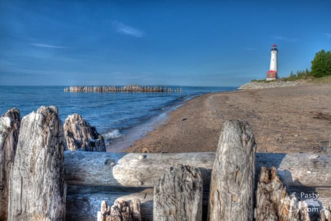 Crisp Point Lighthouse  Photos by Philip Odum