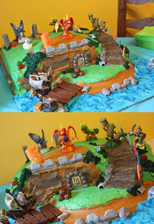 Skylanders Birthday Cake Cakes Weve Made Pinterest Skylanders