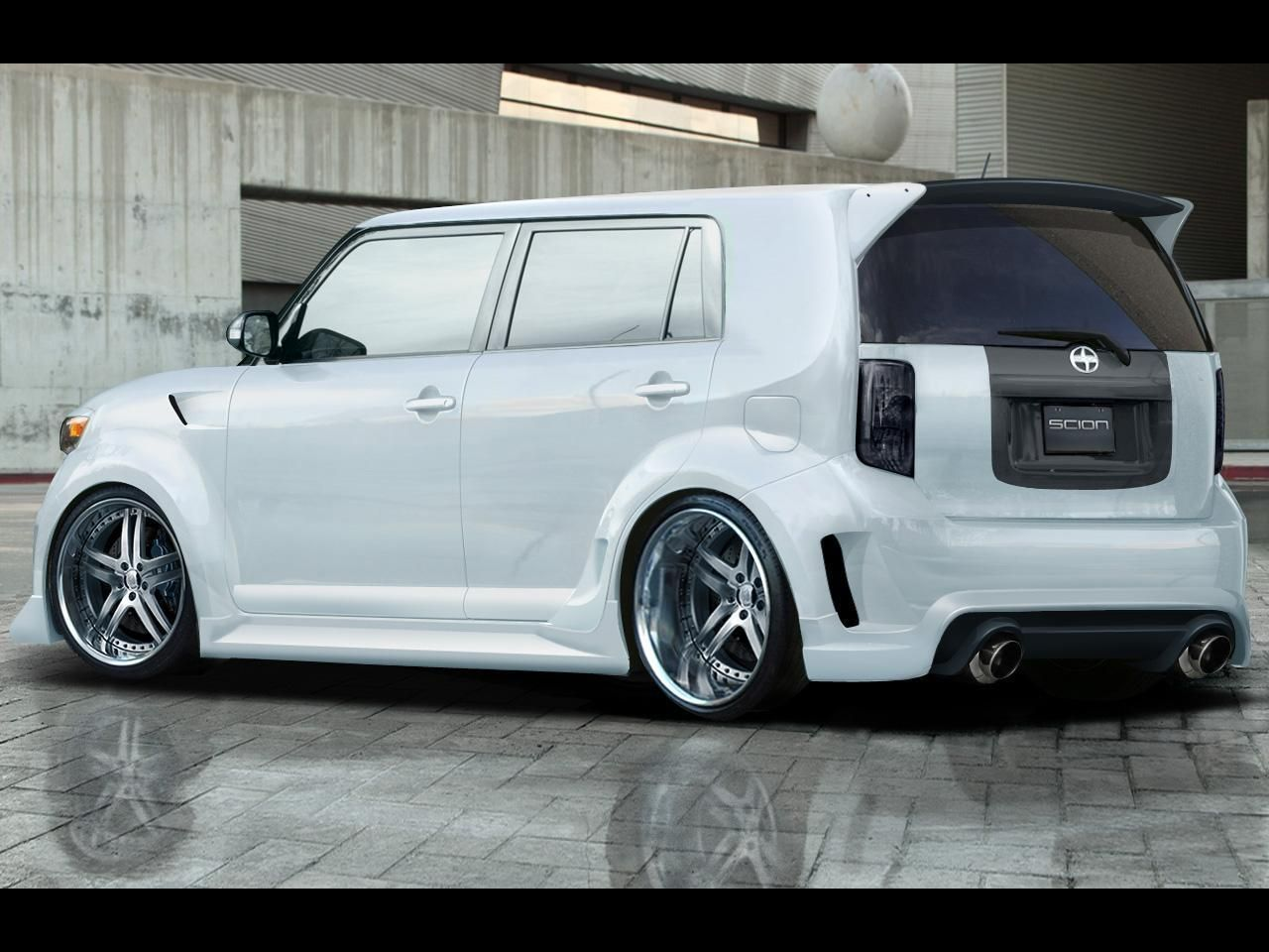 The second generation scion xb is styled as a 5 door version of the t2b concept unveiled at the 2006 new york auto show description from vehiclear
