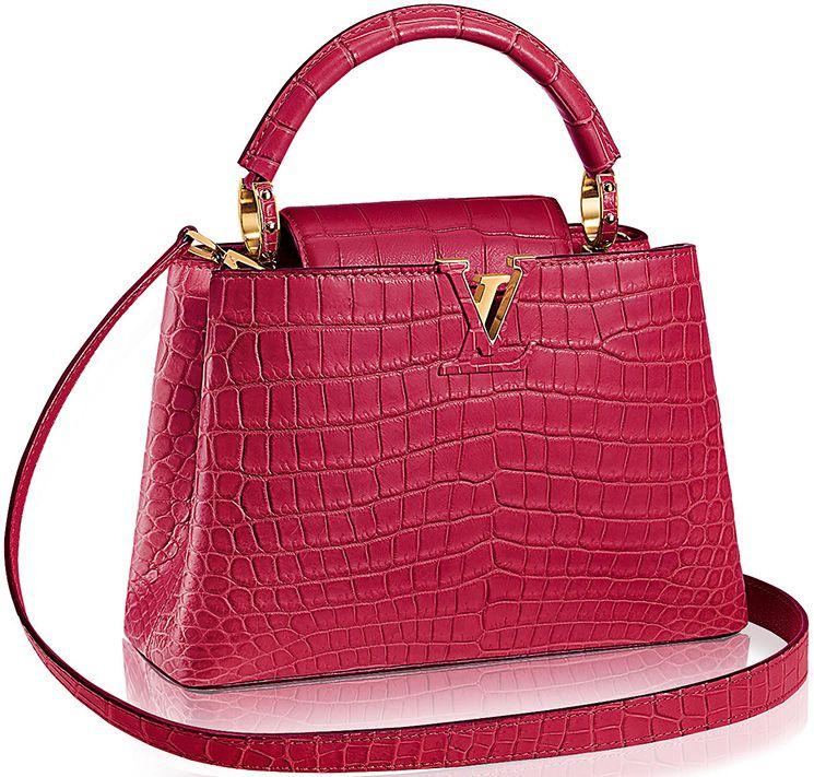 163c612d8d Louis Vuitton Capucines Bags in Ostrich