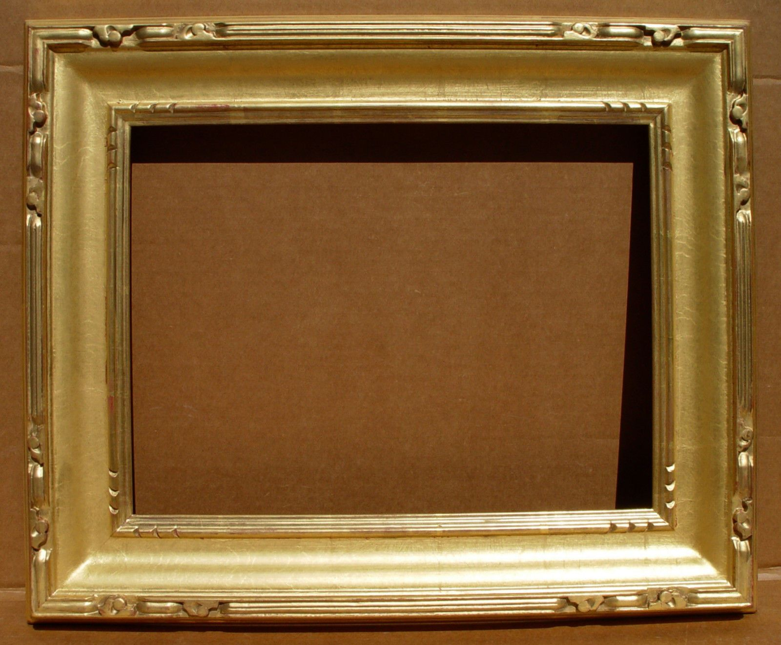Arts Crafts Gold Leaf Motyka Frame For Standard 12 X 16 Inch Oil Frame Gold Leaf Art