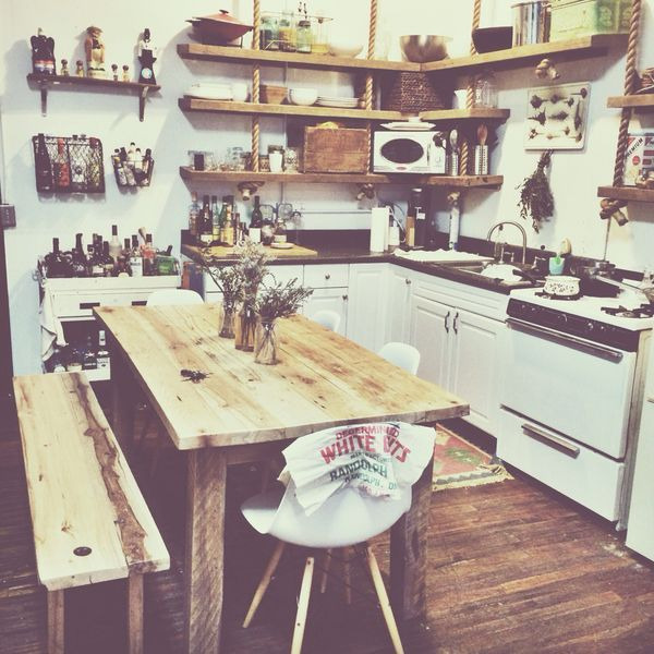 kitchen with images kitchen decor home kitchens hippie kitchen on kitchen decor hippie id=61972
