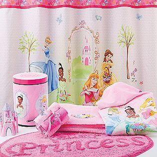 Disney Princess Bathroom Decor...getting This For My Dorm Room Bc We Are