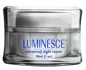 LUMINESCE™ advanced night repair  A rich cream that corrects environmental damage while you sleep, advanced night repair propels your skin into a cycle of self-restoration while fortifying it for the future. Powerful vitamins and antioxidants protect cell membranes from free radical damage. This formula works its hardest at night—when cellular renewal is most active. http://www.skincaretipguide.jeunesseglobal.com/products.aspx?p=LUMINESCE_ADVNIGHTREPAIR