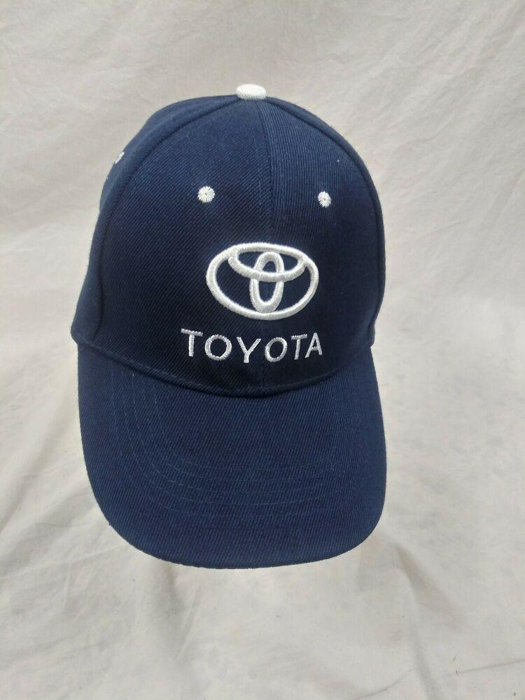 Toyota Adjustable Baseball Hat Cap Blue Toyota Baseballcap Hats With Images Baseball Hats Hat Day Caps For Women