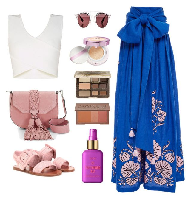 """Untitled #139"" by new-style-to-try on Polyvore featuring Yuliya Magdych, BCBGMAXAZRIA, Rebecca Minkoff, Miu Miu, Christian Dior, L'Oréal Paris, Too Faced Cosmetics, Urban Decay and tarte"