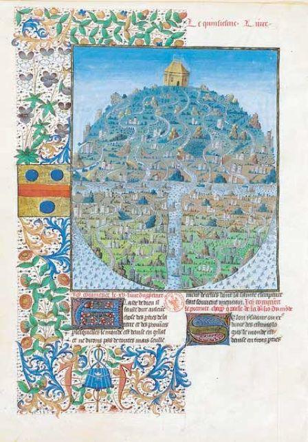 Barthelemy L Anglais Livre Des Proprietes Des Choses Jean Corbechon 1372 Copie Par Gilles Gracien Et Illustre Par Evrard D Espin Dx Miniatyury Stary