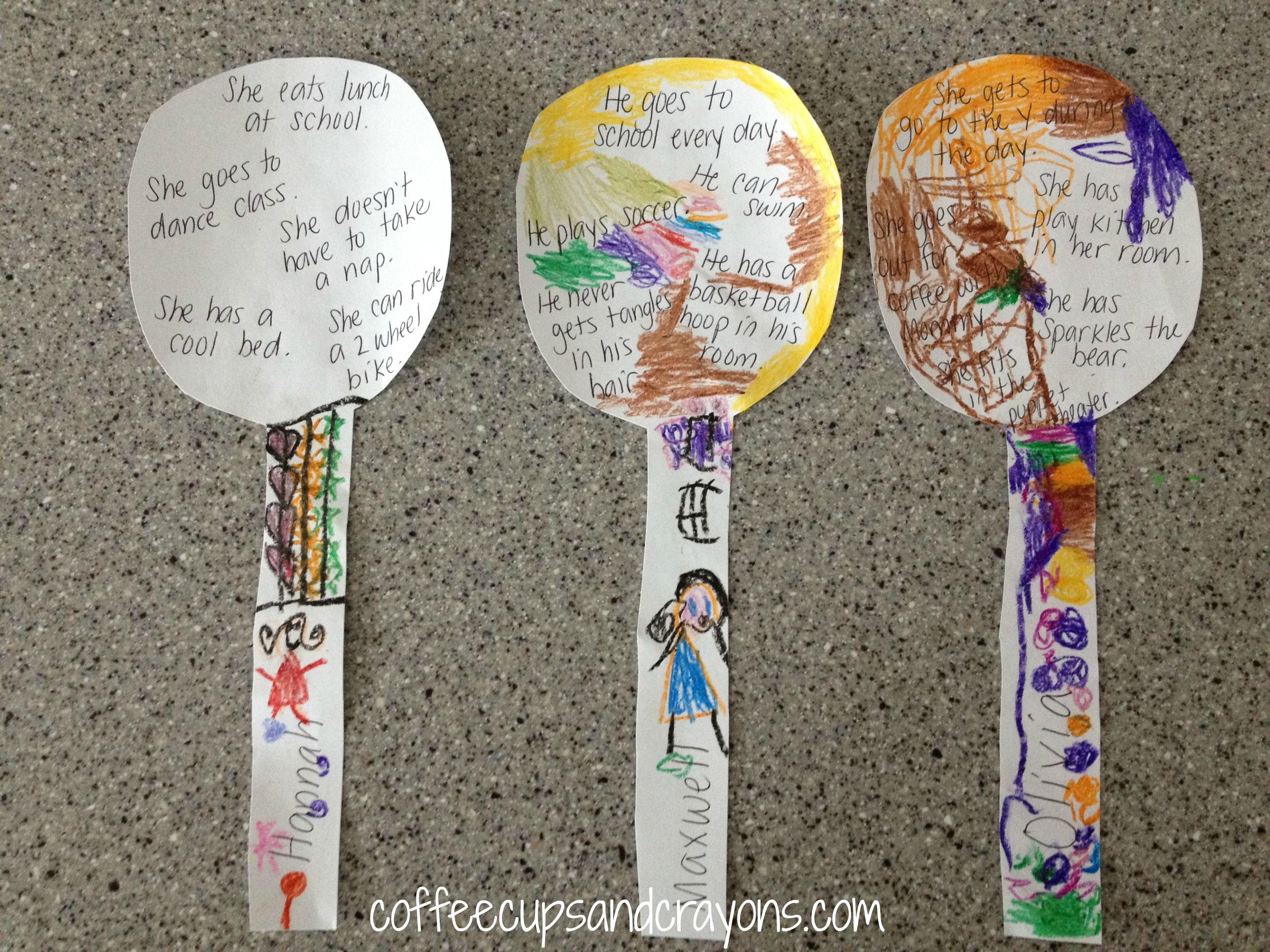Spoon Feelings Activity For Kids