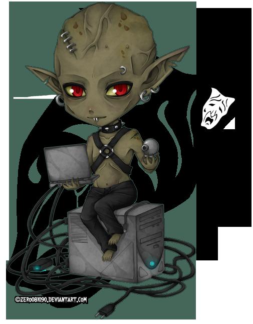 VtM - chibi_Clan Nosferatu by zero081090 deviantart com on
