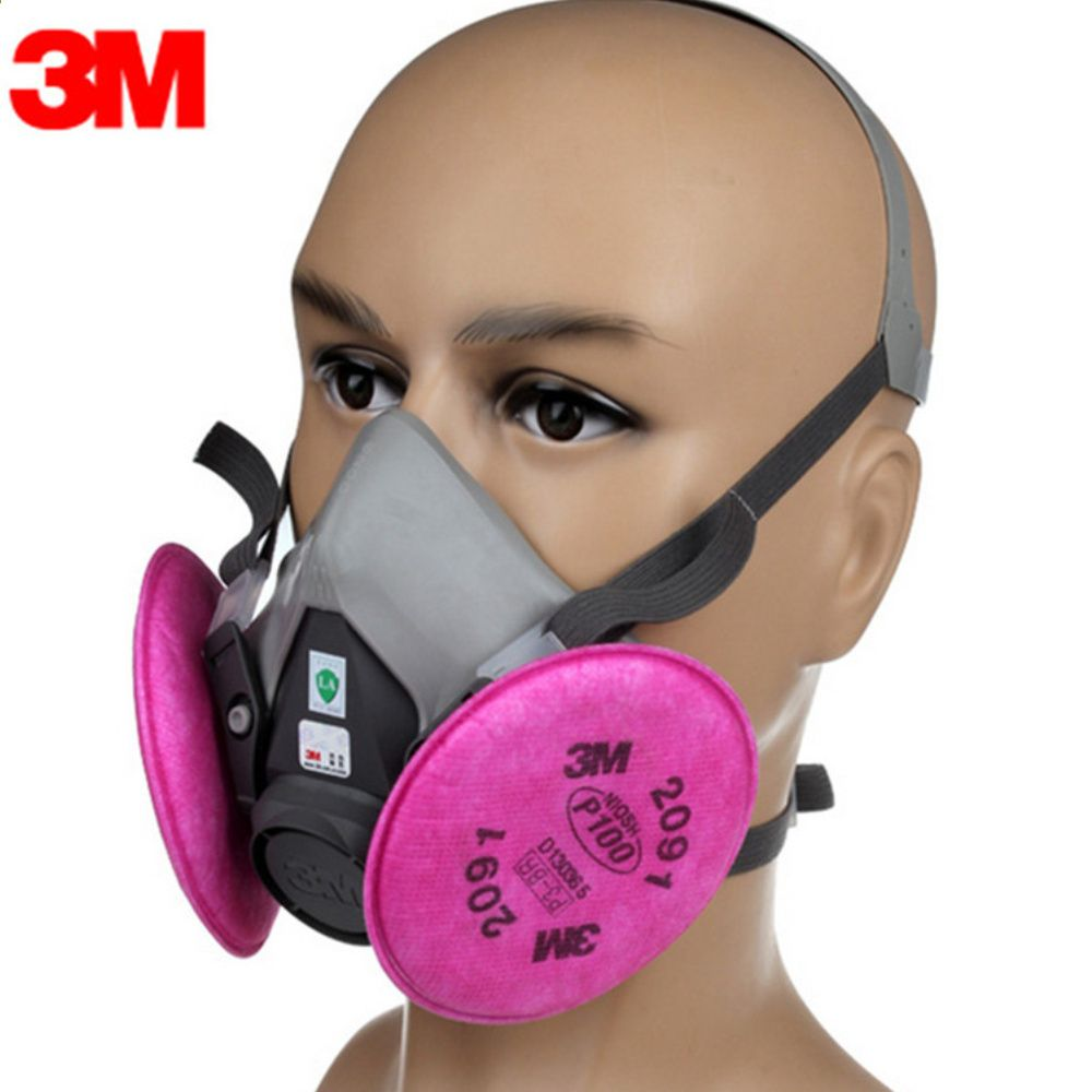 mascherina antipolvere con filtro 3m