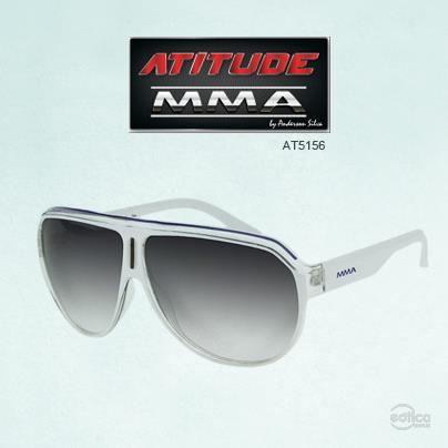 f5e9495047407 Óculos de sol Atitude MMA