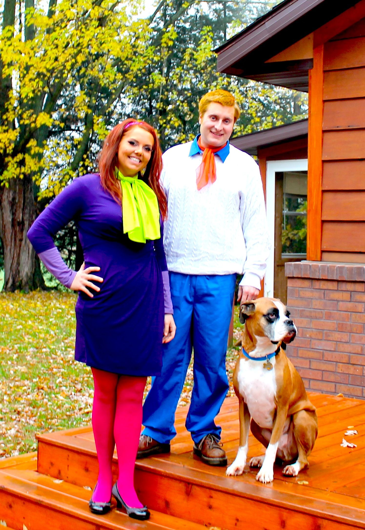Diy Halloween Costume Fred Daphne Scooby Scooby Doo Halloween