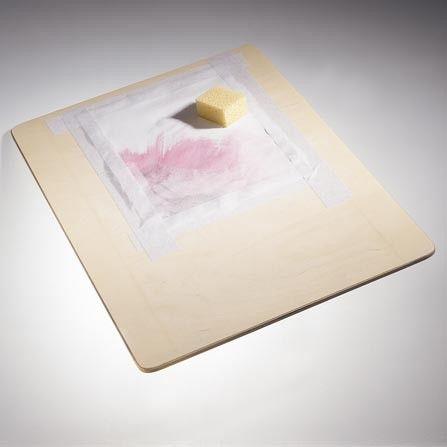 Malbrett Holzunterlage Ideal Fur Aquarellpapier Papier