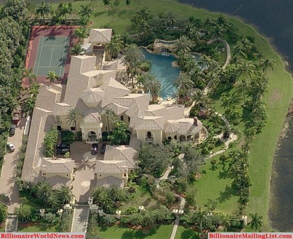 Top 10 Billionaire Mansions Homes - YouTube