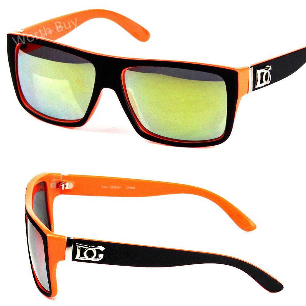 6103f986e3 New DG Eyewear Mens Square Black Orange Mirrored Lens Sunglasses Shades  Fashion   3.45 (0 Bids) End Date  Monday Nov-5-2018 7 34 58 PST Bid…