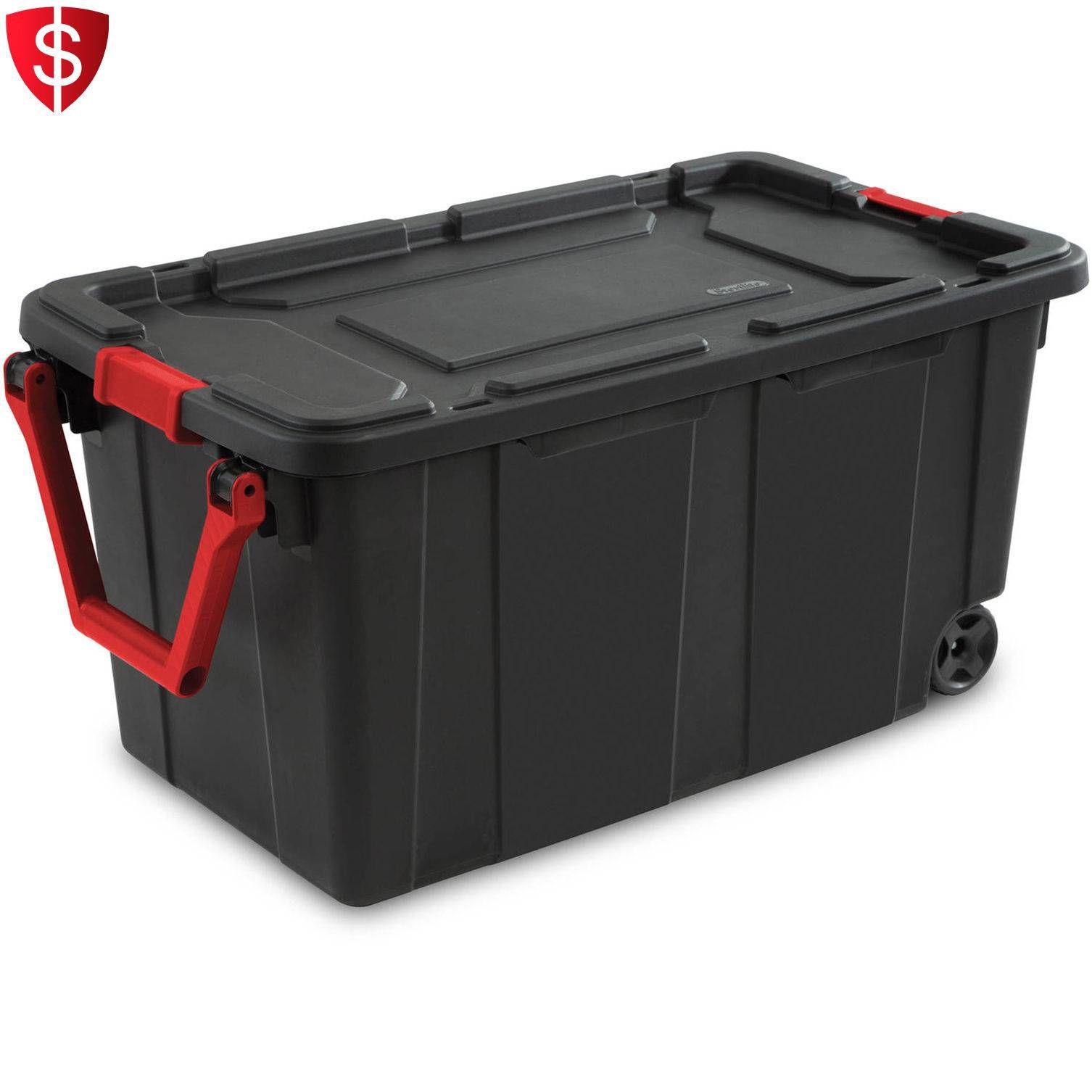 Cool Wheeled Storage Container Field Plastic Meals Bin Organizer Rolling Tote Organizer Check M Storage Bins With Wheels Large Storage Bins Plastic Box Storage