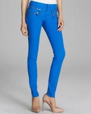 Port51 ♥ Michael Kors Colored Skinny Jeans with Zips