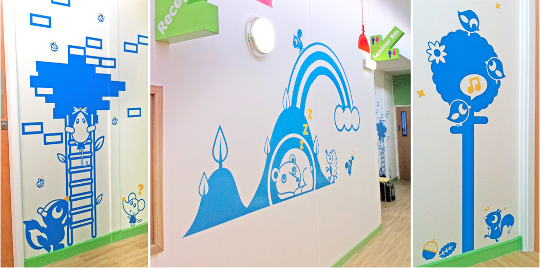 Tado - Sheffield Childrens Hospital | hospital art | Pinterest