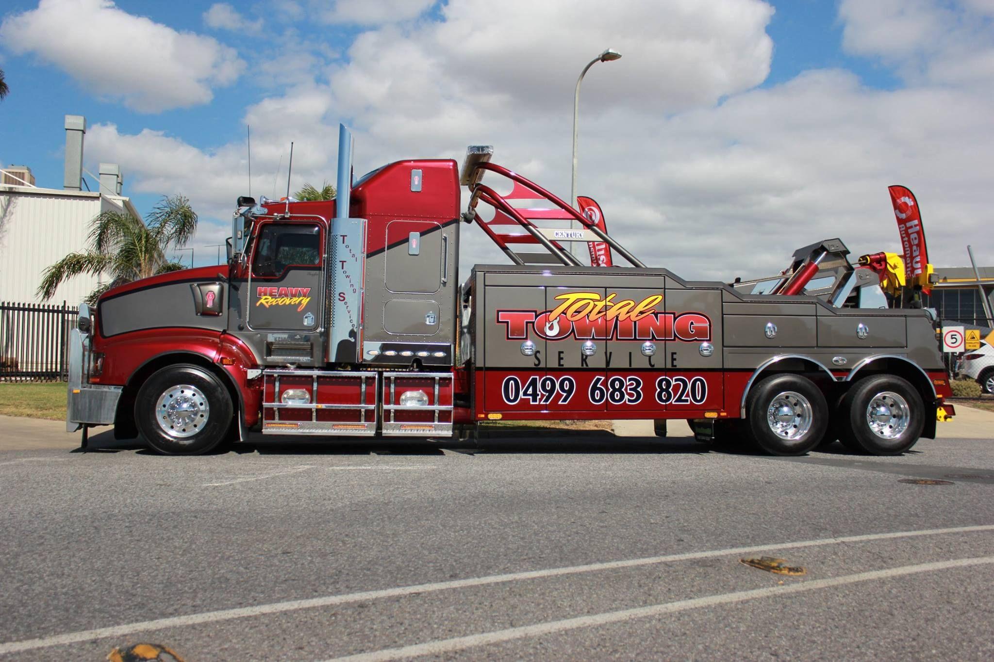 Total towing service burke nsw kenworth century heavy duty wrecker