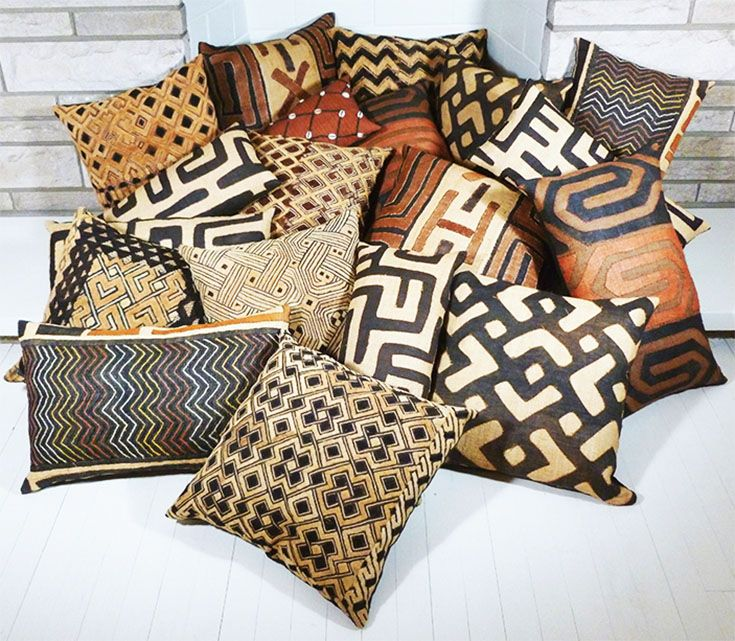 Loving All Of The Patterns Textures And Designs On These Kuba