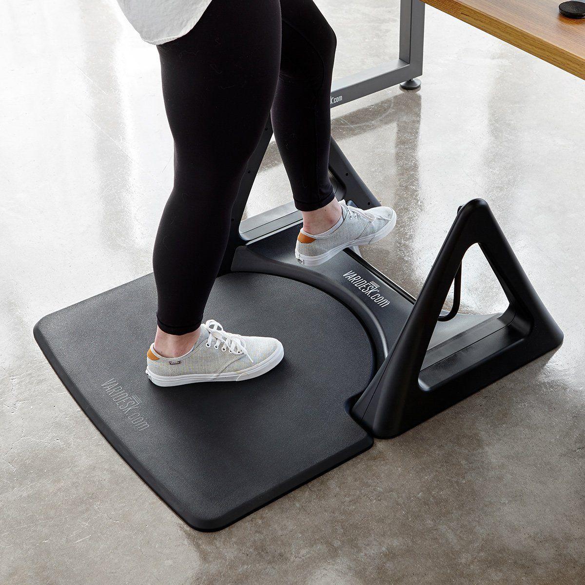 Amazon Com Varidesk Standing Desk Anti Fatigue Comfort Floor Mat Activemat Rocker Kitchen Dining Standing Desk Accessories Rocker Floor Mats