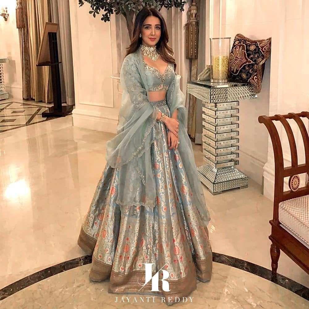 Jayanti Reddy Summer Lehengas   2019 Bridal Collec
