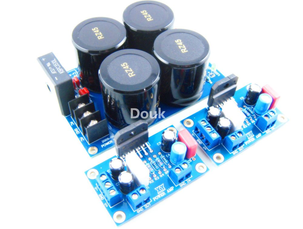 LM3886TF Audio Power Amplifier HiFi Amp+Rectifier Filter