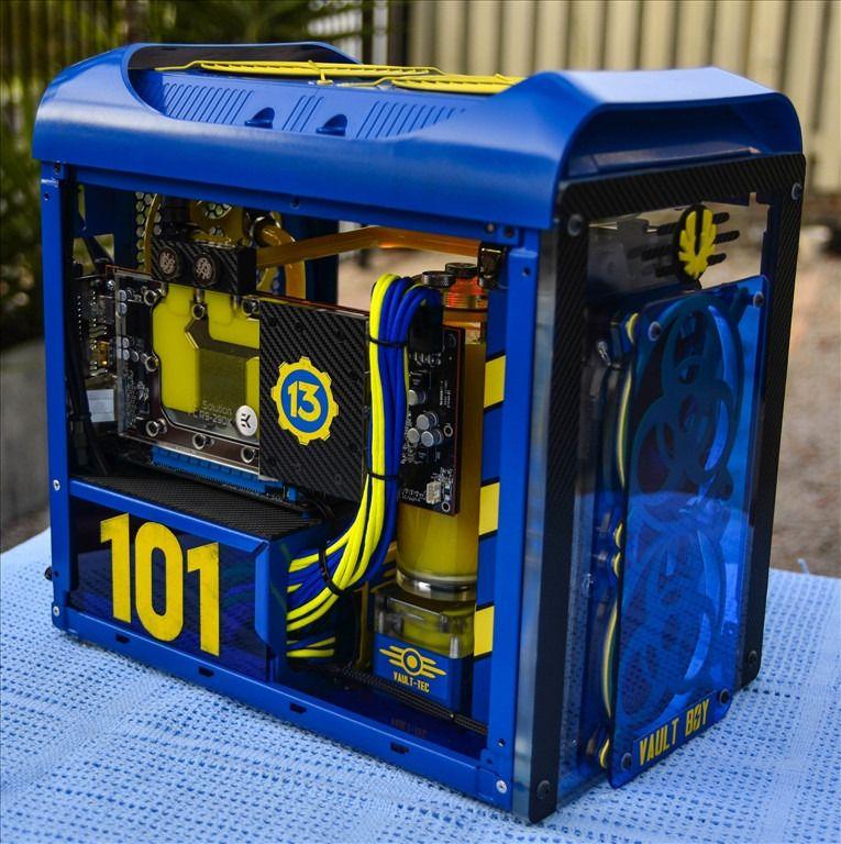 Vault Boy Pc Case Pc Bauen Pc Gehause Alter Computer