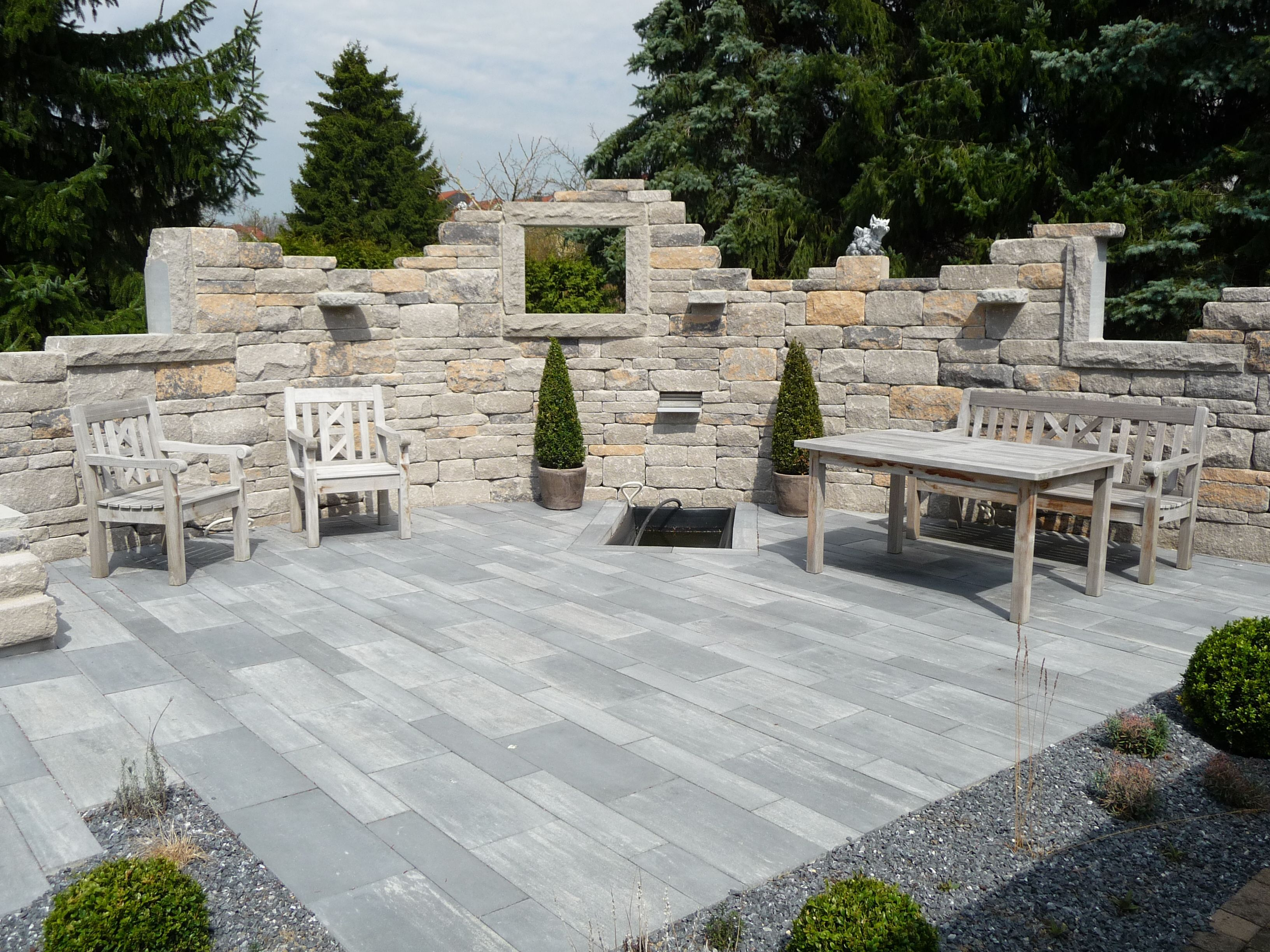 P1010008 Jpg 3264 2448 Steinmauer Garten Terrassengestaltung Gartenmauern